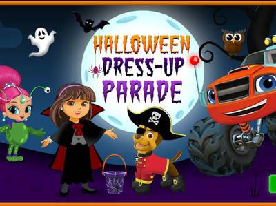 Nick Jr - Halloween Dress-up Parade!
