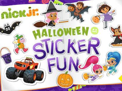 Halloween Stickerbook
