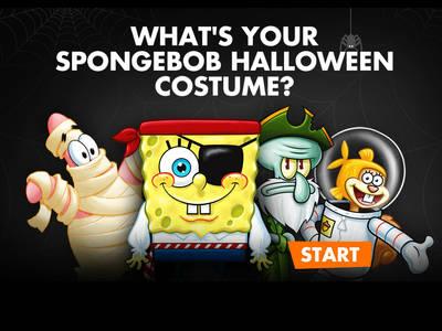 Μπομπ Σφουγγαράκης - Ποιο κουστούμι Halloween σου ταιριάζει;