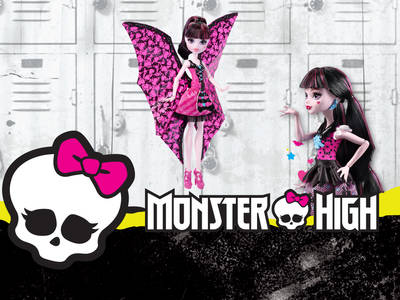 Κερδίστε δώρα Monster High Ντρακουλόρα Μεταμόρφωση!