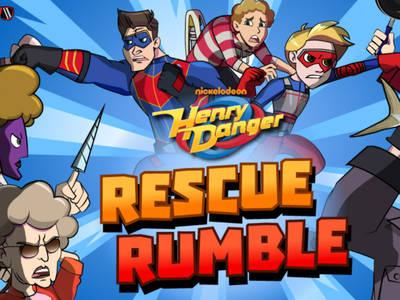 Χένρι Ο Επικίνδυνος - Rescue Rumble