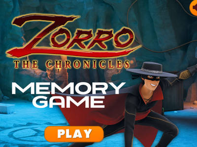 ZORRO - Παιχνίδι Μνήμης