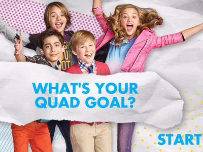 NICKY, RICKY, DICKY & DAWN - WHAT'S YOUR QUAD GOAL?