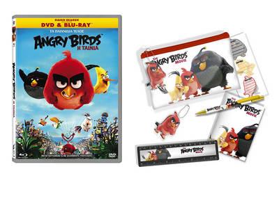 Κέρδισε DVD και σχολικά σετ της ταινίας ''Angry Birds''