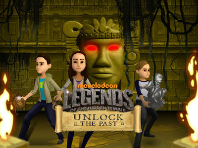 Legends of the Hidden Temple - Unlock the Past