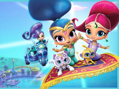 Shimmer and Shine - The Great Zahramay Falls Race