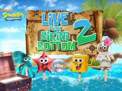 Μπομπ Σφουγγαράκης - Live from Bikini Bottom 2