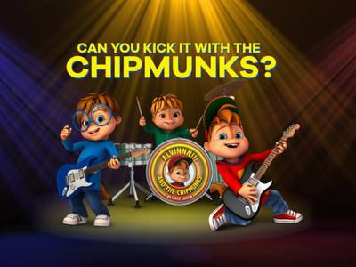 Ο ΑΛΒΙΝΝΝ!!! και η παρέα του- Can you kick it with the chipmunks?