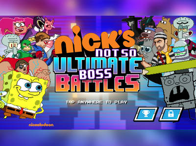 Nick's Not So Ultimate Boss Battles