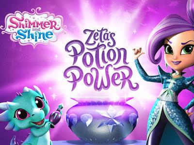 Σίμερ και Σάϊν - Zeta's Potion Power