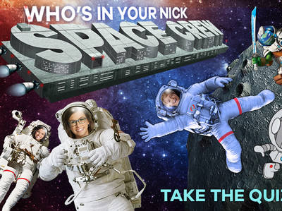 Who's in your Nick Space Crew?