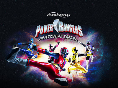 Power Rangers - Match Attack