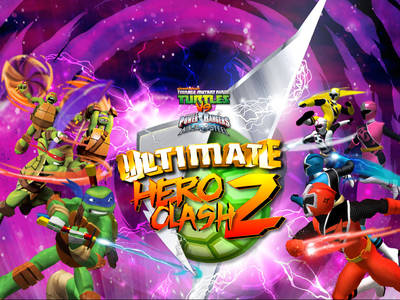 Power Rangers vs TMMNT: Ultimate Hero Clash 2