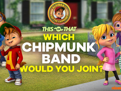 This or That - Which Chipmunk Band would you join?
