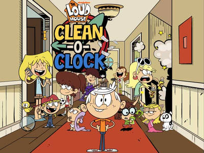 The Loud House - Clean o clock