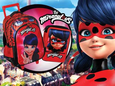 Κάνε δικό σου, ένα σετ σχολικών Ladybug!