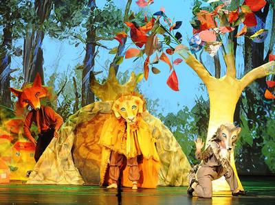 «Αλεπού Αισωπού» στο θέατρο Ακροπόλ