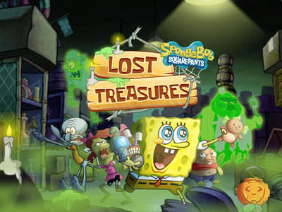 Μπομπ Σφουγγαράκης- Lost Treasure (Halloween edition)