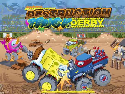 Destruction Truck Derby