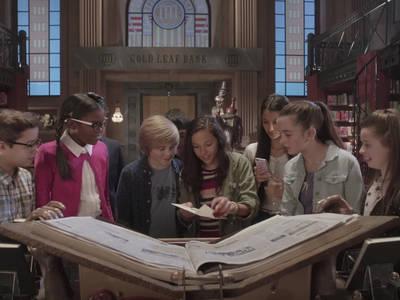 """""""Απόδραση από τη βιβλιοθήκη του κύριου Λιμοντσέλο"""", Κυριακή 26 Νοεμβρίου στις 20:30"""