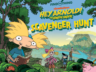 Hey Arnold The Jungle Movie: Scavenger Hunt