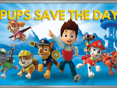 Paw Patrol - Pups save the day