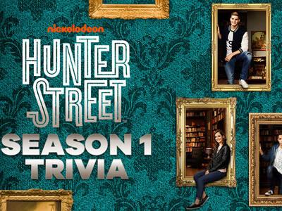 Hunter Street Season 1 Trivia