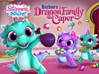 Σίμερ & Σάιν: Nazboo's Dragon Family Caper