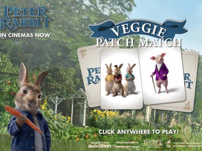 Peter Rabbit- Veggie Patch Match