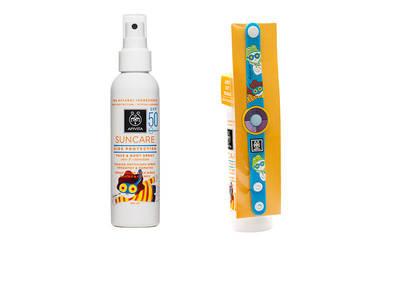 Κέρδισε αντηλιακά spray APIVITA με δώρο το βραχιόλι UV!
