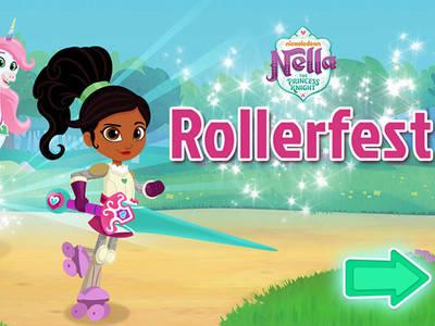 Νέλλα η Πριγκίπισσα Ιππότης: Rollerfest