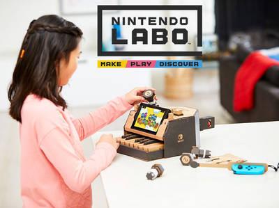 Δημιούργησε, παίξε και ανακάλυψε με το Nintendo Labo