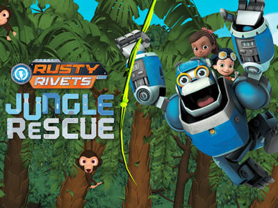 Rusty Rivets - Jungle Rescue