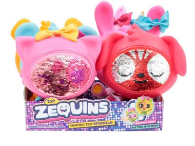 The Zequins: Νέα ζωάκια με παγιέτες!