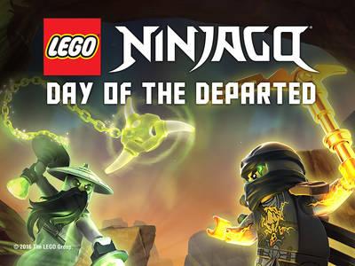 Νέα ταινία: ''LEGO Ninjago: Day of the Departed''