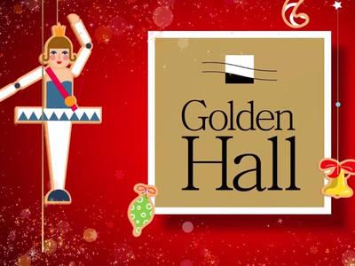 O Κόσμος του Καρυοθραύστη ζωντανεύει για 2η χρονιά στο Golden Hall!