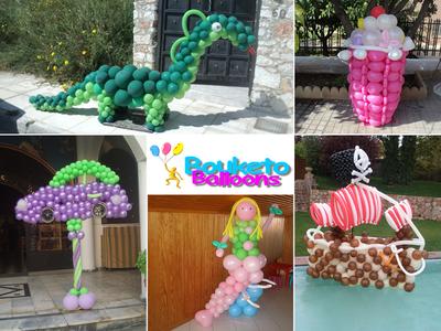 Bouketo Balloons | Η καλύτερη επιλογή για στολισμό εκδηλώσεων!