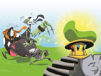 To νέο ελληνικό κόμικ φαντασίας για παιδιά που κυκλοφόρησε!