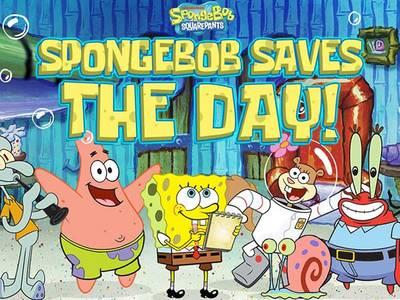 Spongebob saves the day