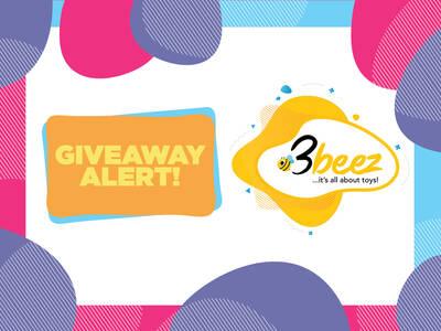 3beez.gr | Giveaway Alert!!!