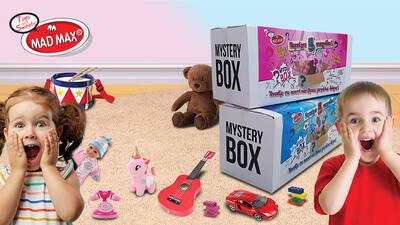 Ήρθε το νέο Mystery Box από την Madmax!!