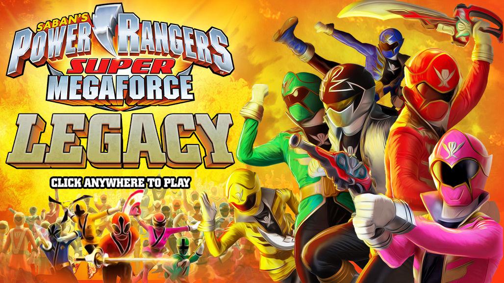 Power Rangers Megaforce - Legacy