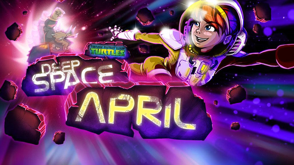 Teenage Mutant Ninja Turtles - Deep Space April