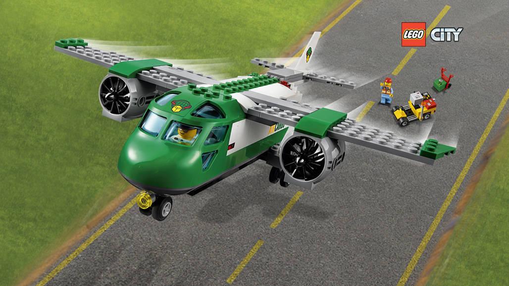 LEGO CITY - Φορτηγό Αεροπλάνο Αεροδρομίου