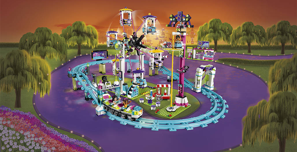 LEGO Friends- Ρόλερ Κόστερ του Λούνα Παρκ