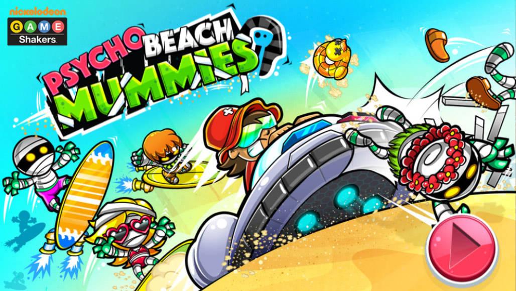Μούμιες, κυνήγι και ταχύτητα! Τσέκαρέ το! Psycho Beach Mummies