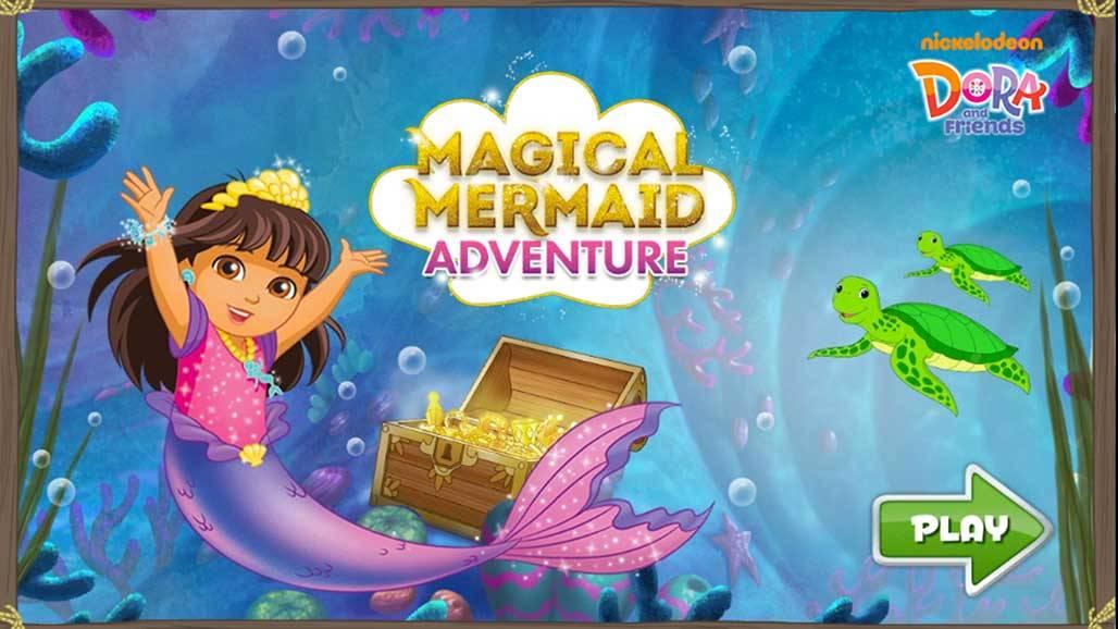 Οι Ντόρα και οι φίλες της- Magical Mermaid Adventure