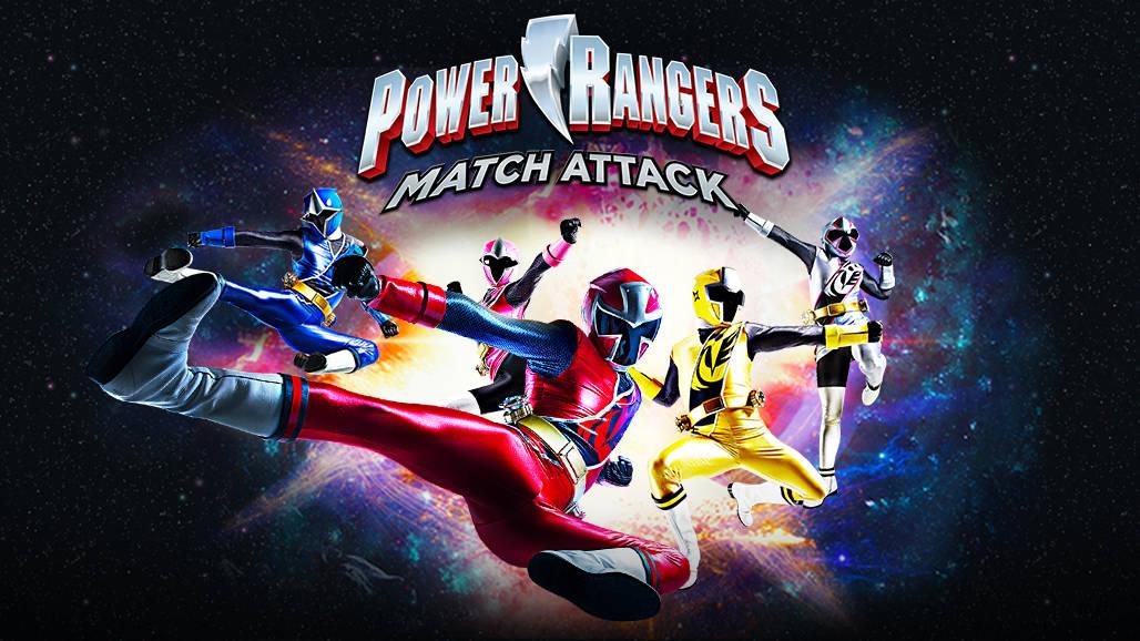 Power Rangers - Match Attack