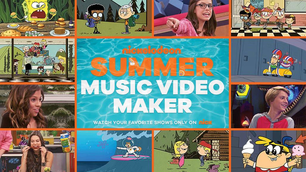 Nickelodeon Summer Music Video Maker