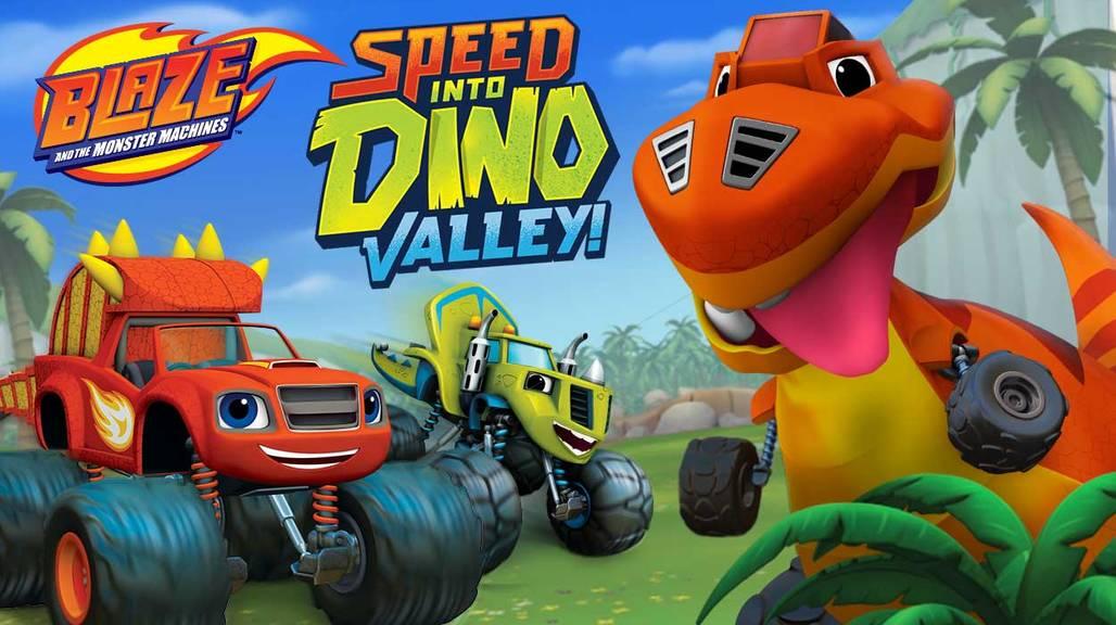 Ο Μπλέιζ και οι Φίλοι του - Ταχύτητα στην κοιλάδα των δεινοσαύρων